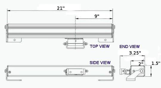 Heavy duty skylight opener