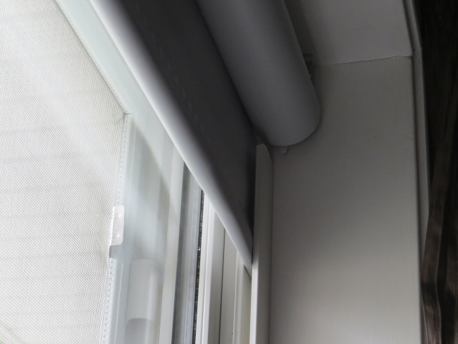motorized blackout blinds - use u-channel to seal out light