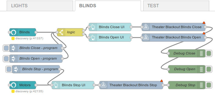 Alexa™ Controls Blinds & Shades With Node-RED Dashboard