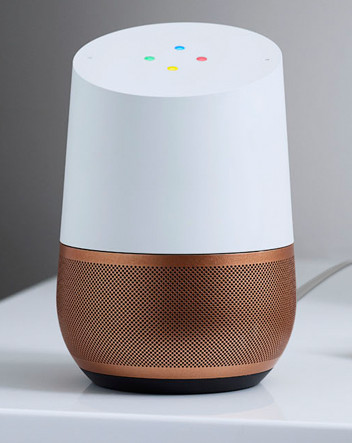 Google Home voice control system