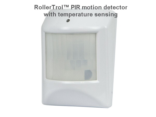 Z-Wave Motion Detector with Temperature Sensing