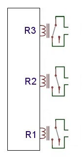 ZWAVE blind motor interface schematic