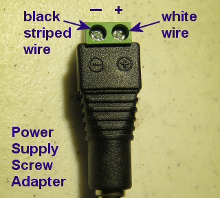 power supply screw terminal adapter