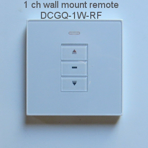 1 channel RF remote control for blinds, shades and window or skylight openers