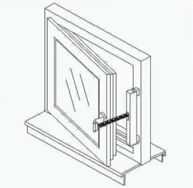 motorized window opener for casement window