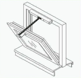 Motorized Openers For Windows Skylights Vents