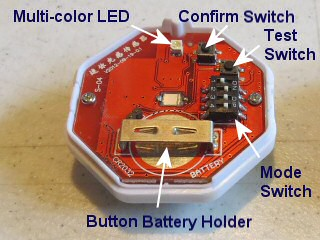 sunlight sensor for motorized blinds and shades - controls and layout