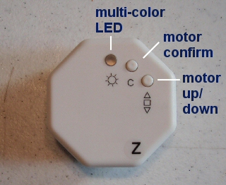 light sensor for blind and shade motors