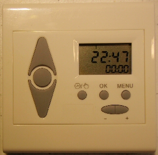 timer for blinds and shades - wall mounted