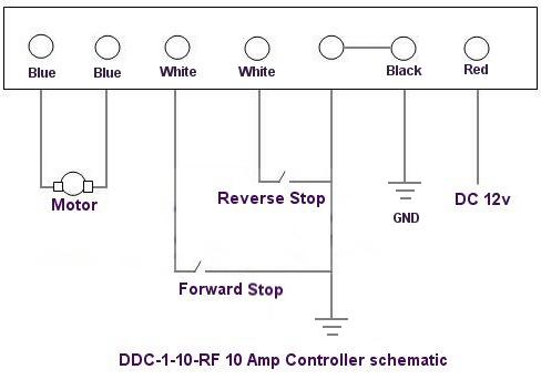 rollertrol 12v dc reversing controller instructions rh rollertrol com Fuel System Wiring Diagram Electrical Wiring Diagrams Motor Controls