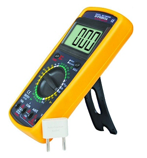 auto-off digital multimeters with audible short circuit testing