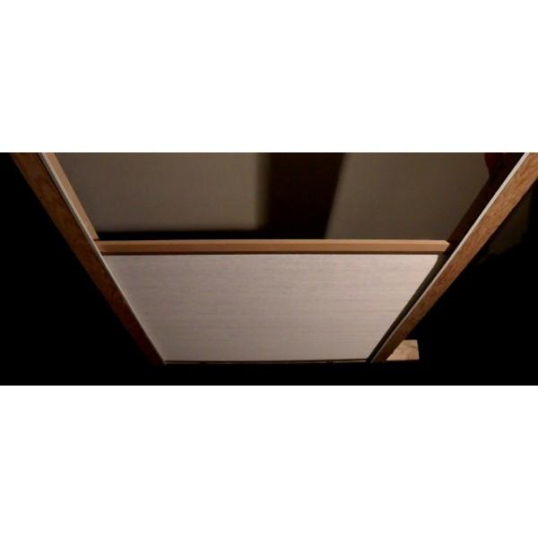 Skylight Greenhouse Bottom Up Shade Door Slider