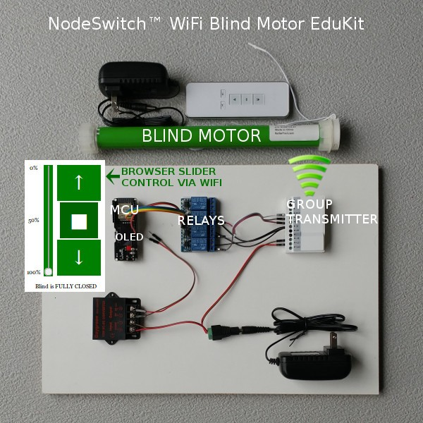 Micropython Educational Esp32 Kits Blind Motors Electric