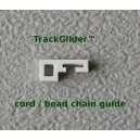 Track Cord or Chain Guide for Drapery and Curtains