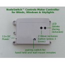 ZWAVE Group Controller for Blinds and Actuator Motors