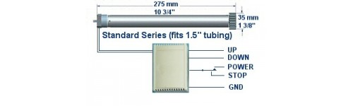 Universal motor interface for arduino
