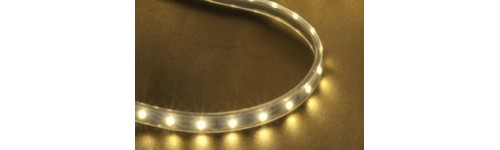 ♦ LED 12v Flexible Strip Lighting - Warm White
